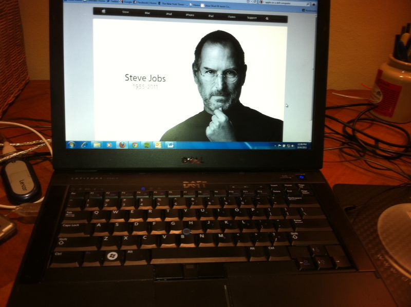 Steve jobs on dell